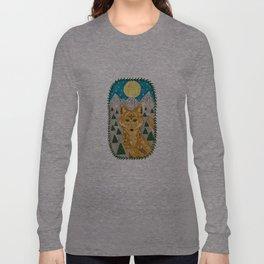 Spirit Coyote Long Sleeve T-shirt