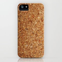 Towel thick Cork imitation iPhone Case