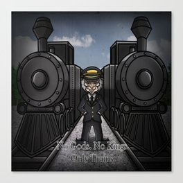 The Conductor Canvas Print