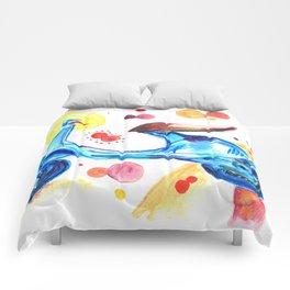 Blue Vespa Quarantasei Comforters
