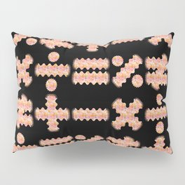 Seamless Colorful Abstract Mathematical Symbols Pattern III Pillow Sham