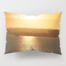 Sail away from the safe harbor Pillow Sham