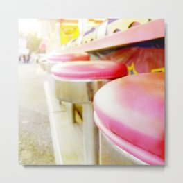 Carnival Collection - Midway Seats Metal Print