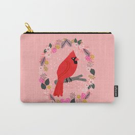 Northern Cardinal by Andrea Lauren  Carry-All Pouch
