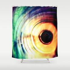 حلقه های رنگارنگ Shower Curtain