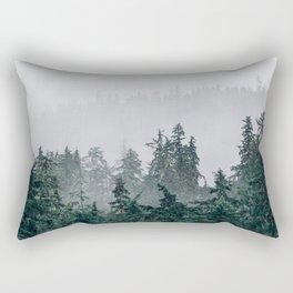 The Faded Fog Rectangular Pillow