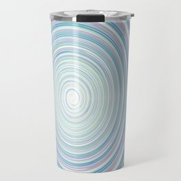 Re-Created Spin Painting No. 2 by Robert S. Lee Travel Mug