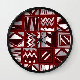 African Pattern 3 Wall Clock
