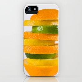 Orang-Lem-Lime iPhone Case