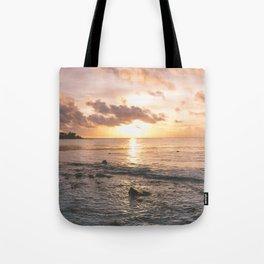 Caribbean Sea, Mayan Riviera Tote Bag
