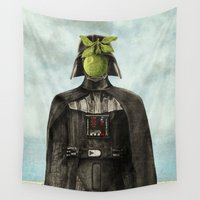magritte Wall Tapestries featuring Son of Darkness by Eric Fan