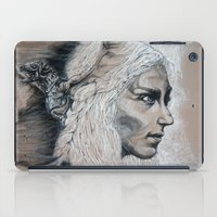 mother of dragons iPad Cases featuring Mother by Clayton Young