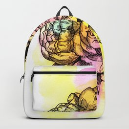 Plant Series: Peony Backpack