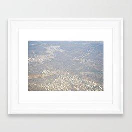 GEOgraphy V Framed Art Print
