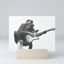 Groovy Gorilla Mini Art Print