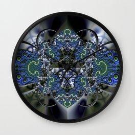 Reflective Wall Clock