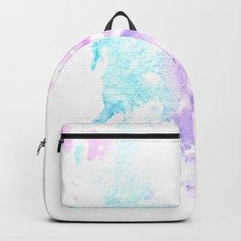 Watercolor Splatter Heart Backpack