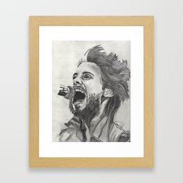 This Is Who I Really Am Framed Art Print