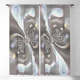 Magnetism - Abstract Art by Fluid Nature Blackout Curtain