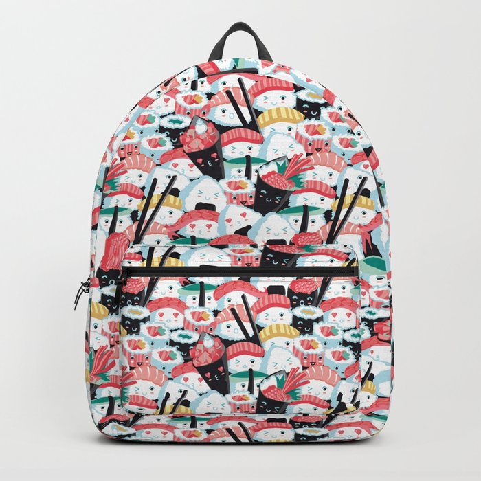 Kawaii Sushi Crowd Backpack