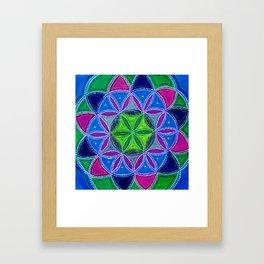Harmonic Energy Framed Art Print