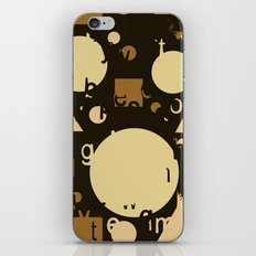 Geometry and equation iPhone & iPod Skin