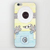 minion iPhone & iPod Skins featuring minion by di yirou