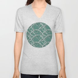 Winter Branches Unisex V-Neck