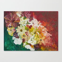 Fun with Flowers Canvas Print