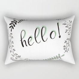 Avete! Rectangular Pillow