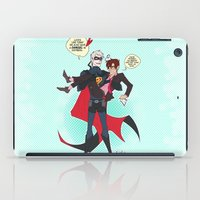 yaoi iPad Cases featuring PruMano superheroes by Jackce