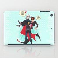 hetalia iPad Cases featuring PruMano superheroes by Jackce