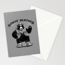 Howdy Partner Stationery Cards