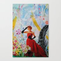 vogue Canvas Prints featuring Vogue by John Turck