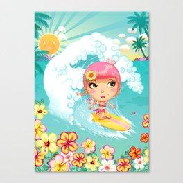 SAILOR PINK Big Surf Canvas Print
