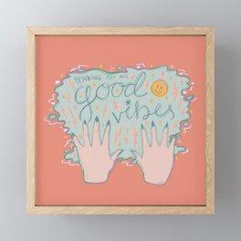 Good Vibes Framed Mini Art Print