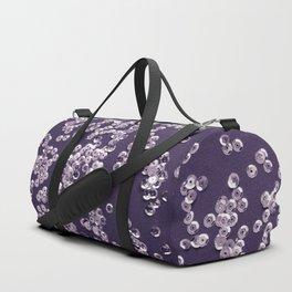 Violet background Duffle Bag
