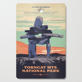 Torngat Mountains National Park Poster Cutting Board