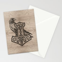 Mjolnir  - the hammer of Thor Stationery Cards