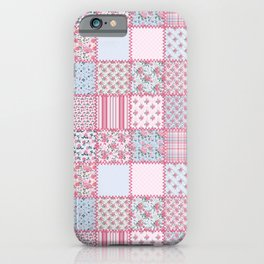 Pretty Pastel Patchwork iPhone Case