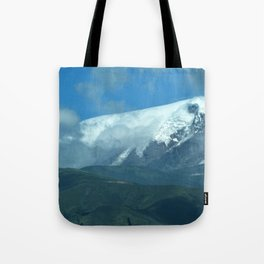 Cayambe Glacier, Cayambe Ecuador Tote Bag