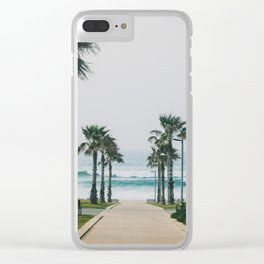 Tel-Aviv Clear iPhone Case