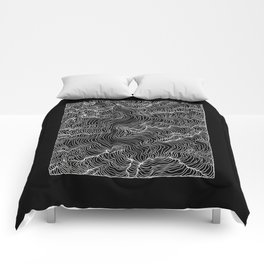 Inverted Incline Comforters