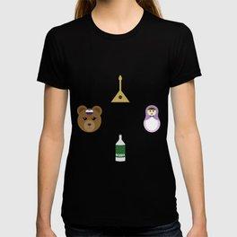 Russia pattern T-shirt