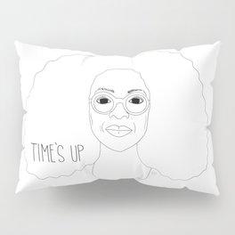 Time's Up Oprah Line Art Pillow Sham