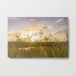 Sunrise over North Richmond. Metal Print