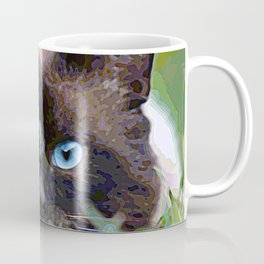 AnimalPaint_Cat_20171201_by_JAMColorsSpecial Coffee Mug