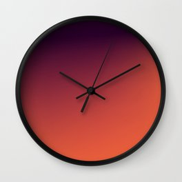 DAWN / Plain Soft Mood Color Blends / iPhone Case Wall Clock