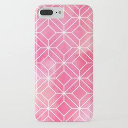 Geometric Crystals: Rose Petal iPhone Case