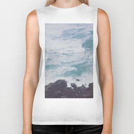 Blue Ocean - Seals on Rocks Biker Tank